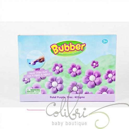 Суміш для ліплення Bubber фіолетова, коробка (0,6 кг)