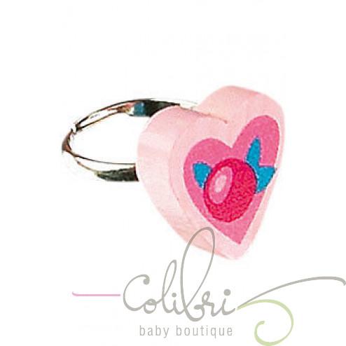"""HB Перстень """"Розовые сердца"""""""