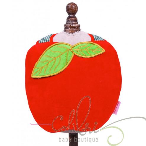 """BB нагрудник """"Яблуко"""" червоний"""