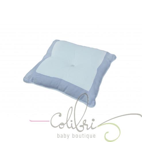 ТР декоративна подушка біла / бузкова violette