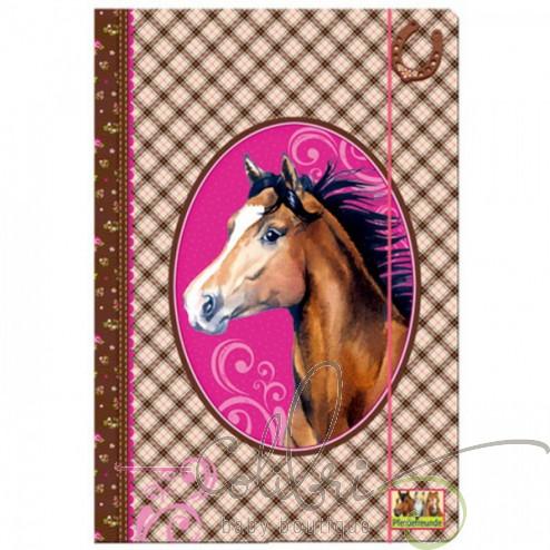 Папка на резинке Друзья коней