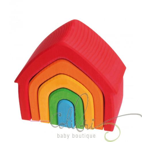 """Пірамідка """"Різнобарвний Будиночок"""""""