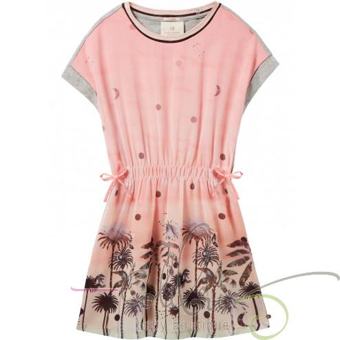 SS Платье с пальмами