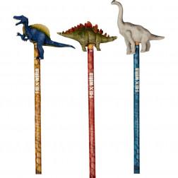 """HB Олівець з верхівкою """"Світ Динозаврів"""" в ас."""