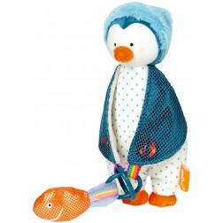 """HB Игрушка-держатель для соски """"Пингвинчик"""""""