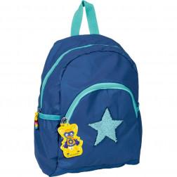"""Маленький рюкзак """"Светлячок"""" голубой"""