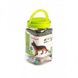 Набор фигурок домашних животных Farm Animals (11 фигурок)