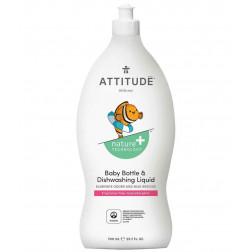 Жидкость для мытья детской посуды без запаха, Baby Bottle & Dishwashing Liquid  - fragrance free