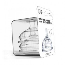 CMTM Змінна соска на пляшку (швидкий потік, 6 + міс.)