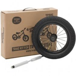 Дополнительные колеса для балансирующего велосипеда Trybike (цвет черный)
