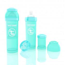 Антіколіковая пляшечка 330ml Turquoise