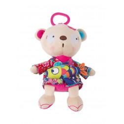 "Музыкальная игрушка ""Панда с рыбкой""KIMONO TUC TUC"