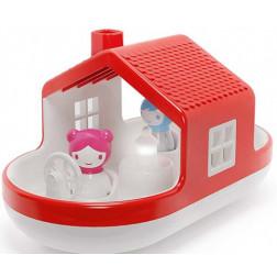 """Игрушка-сортер для игры в воде """"Плавающий дом"""" (звук и стекло)"""