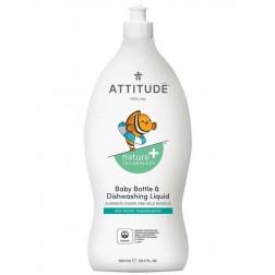 Засіб для миття посуду - грушевий нектар, Baby Bottle & Dishwashing Liquid - pear nectar