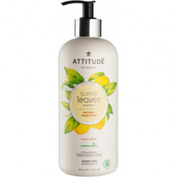 Мыло для рук – листья лимона, Hand Soap - lemon leaves
