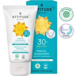 Солнцезащитный детский крем без запаха, Baby & Kids Sunscreen - SPF 30 - fragrance free (150 g)
