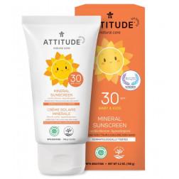 Солнцезащитный детский крем SPF, Baby & Kids Sunscreen - SPF 30 - vanilla blossom (150 g)