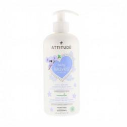 Шампунь 2 в 1 -ночь - миндальное молоко, 2-In-1 Natural Shampoo and Body Wash Almond Milk,