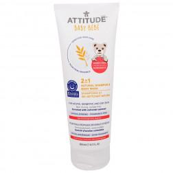Детский шампунь и гель для мытья тела 2в1, Sensitive Skin BABY 2in1 Shampoo & Body Wash - NEA