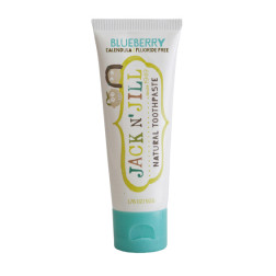 Натуральна зубна паста Jack N' Jill (зі смаком чорниці)  (50g)
