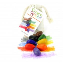 "CR Карандаши  ""Crayon Rocks"" (8 цветов) х/б мешочек"