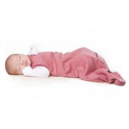 Спальный мешок розовый 0-3 мес.