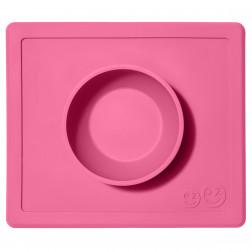 Миска-коврик розовый