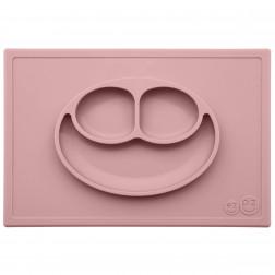 Тарелка-коврик розовый