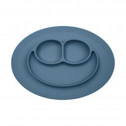 Тарелка - коврик синий