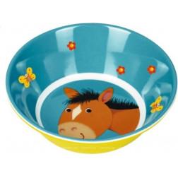 "HB  Меламиновая тарелка глубокая ""Лошадка"""