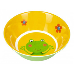 "HB  Меламиновая тарелка глубокая ""Лягушонок"""