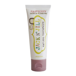 Натуральна зубна паста Jack N' Jill (зі смаком малини)  (50g)