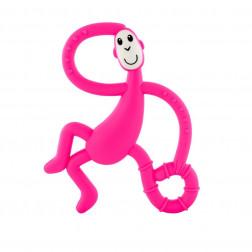 Іграшка-гризун Танцююча Мавпочка (колір рожевий, 14 см)