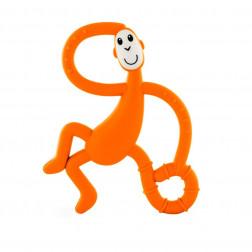Іграшка-гризун Танцююча Мавпочка (колір помаранчевий, 14 см)