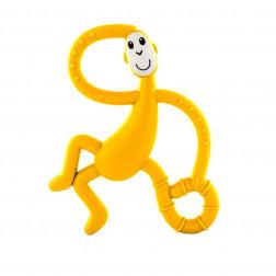 Іграшка-гризун Танцююча Мавпочка (колір жовтий, 14 см)