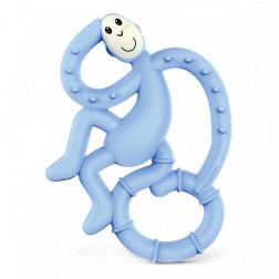 Іграшка-гризун Танцююча Мавпочка (колір блакитний, 14 см)