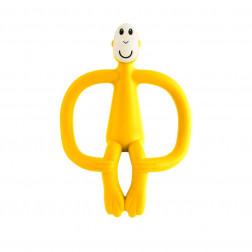 Іграшка-гризун Мавпочка (колір жовтий, 10,5 см)