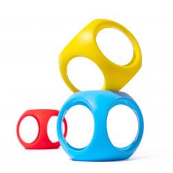 Іграшка-м'яч Oibo (яскраві кольори, 3 шт в уп.)