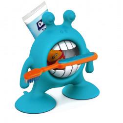 PL Подставка для зубной пасты и щетки (голубой)