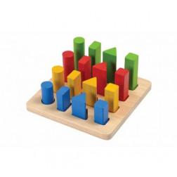 Деревянная игрушка Геометрический сортер