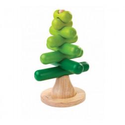 Деревянная игрушка Пирамидка Дерево
