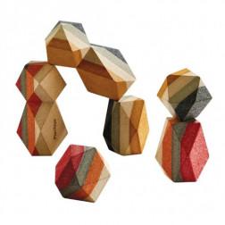 Деревянные Сложенные камни