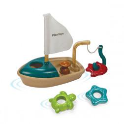 Деревянная игрушка Лодка