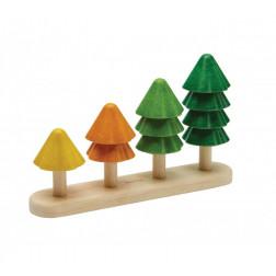 Деревянная игрушка сортируй и считай деревья