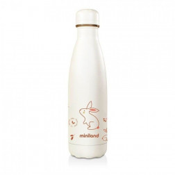 Термобутылка Miniland Natur bottle bunny