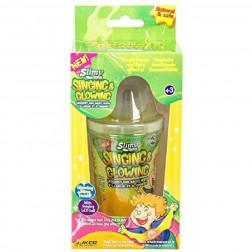 Поющий лизун Slimy з LED шариком (145 г, 2 цвета)