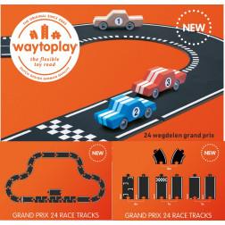"""WT Гнучка дорога """"Grand Prix"""" (24 дорожніх частин, довжина 384 см)"""