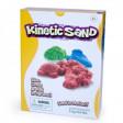 Кінетичний кольоровий пісок кольоровий: червоний, блакитний, зелений (3 кг)