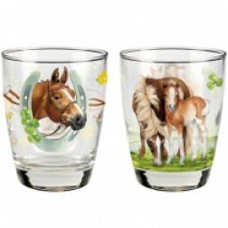 "HB  Набор стаканов ""Друзья коней"" 2 шт"