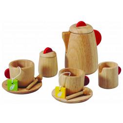Дерев'яна іграшка Чайний сервіз
